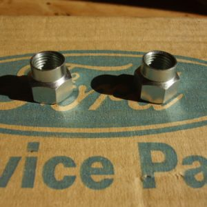 Front Shock Insert Top Mount Locking Nuts 7/16 UNF Thread