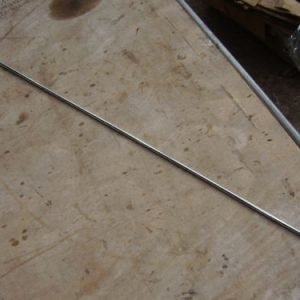 Bonnet Stay Rod in Silver