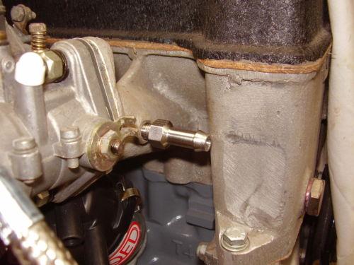 3/8 Servo Vacume Hose Inlet manifold Fitting