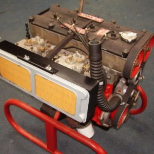 Works Air Box With Throttle Cable Bracket & Air Filter