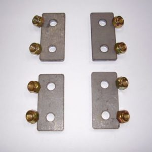 Door Hinge Plates & Lock Nuts