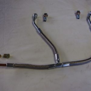 Braided Twin Weber Fuel line