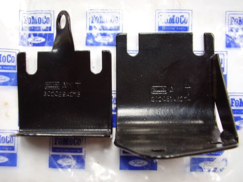 AC air filter box brackets with part numbers