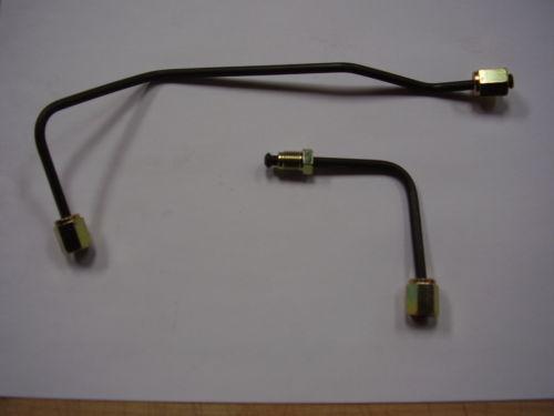 2WD X Member T ABS Pump Brake Lines