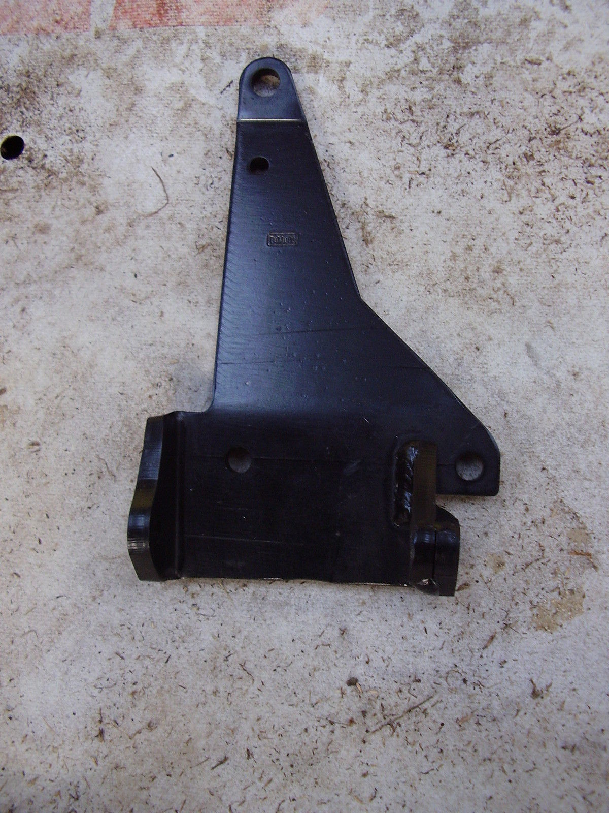 Long alternator bracket