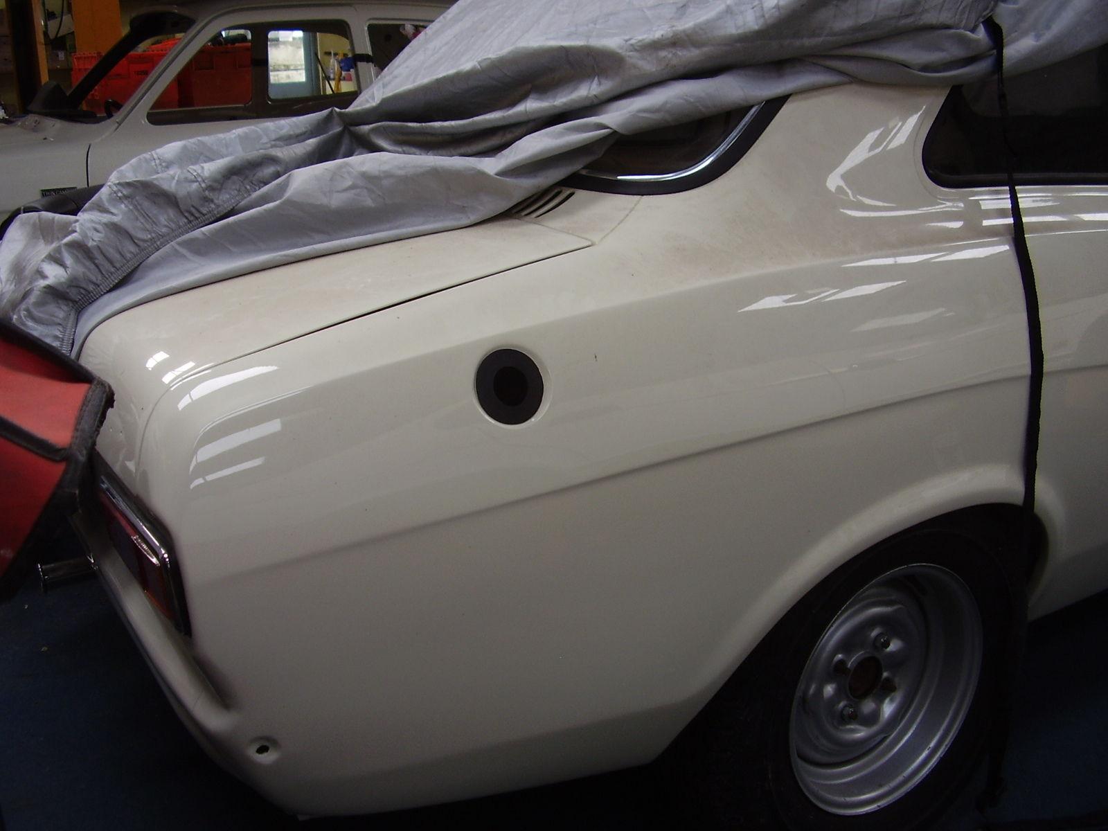 68 / 69 Twin Cam Petrol Tank Filler Neck Rubber