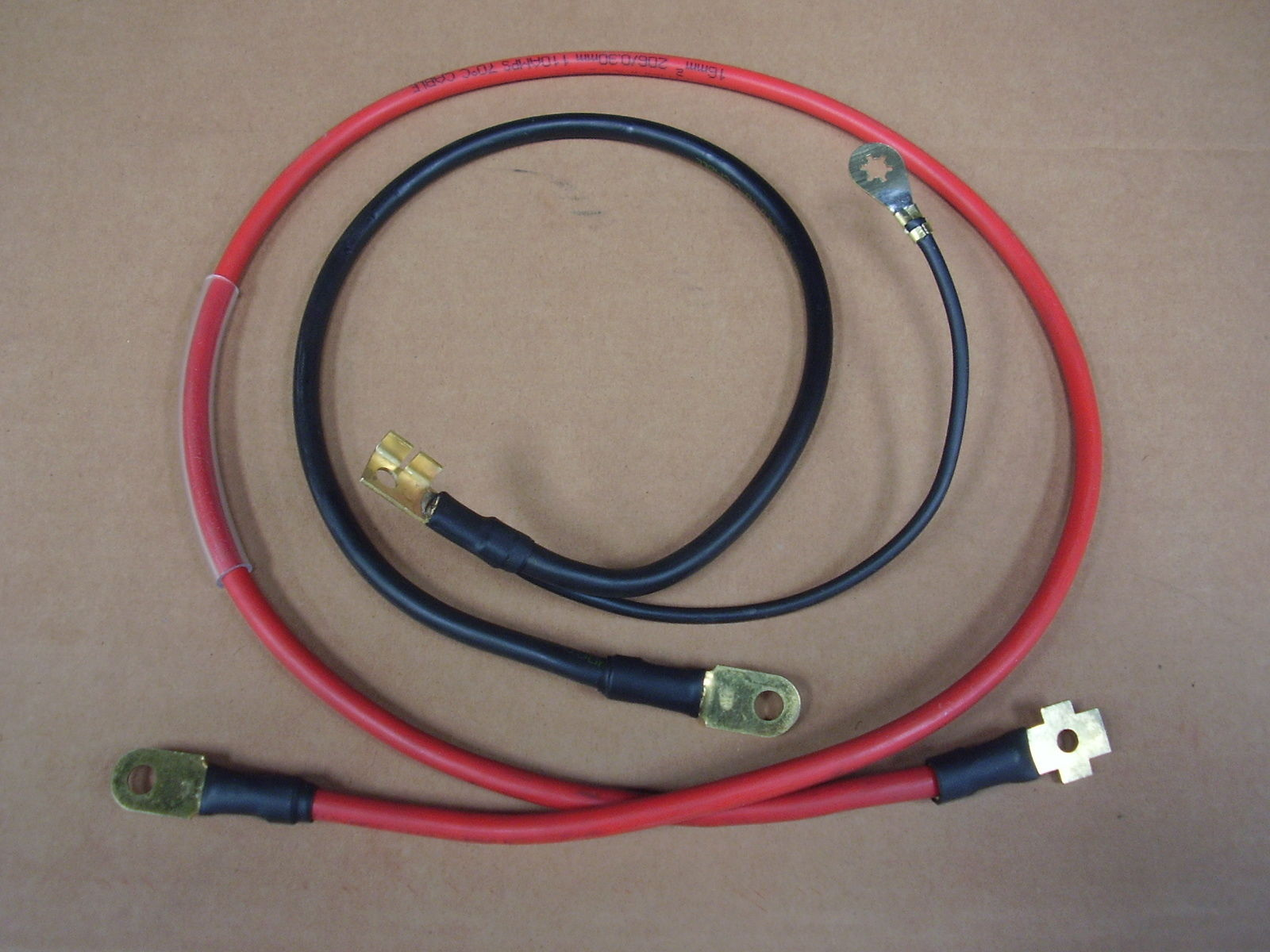 RS2000 Battery Cables AVO Live and Earth Leads