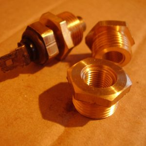 TwinCam Temperature Sender Brass Fitting