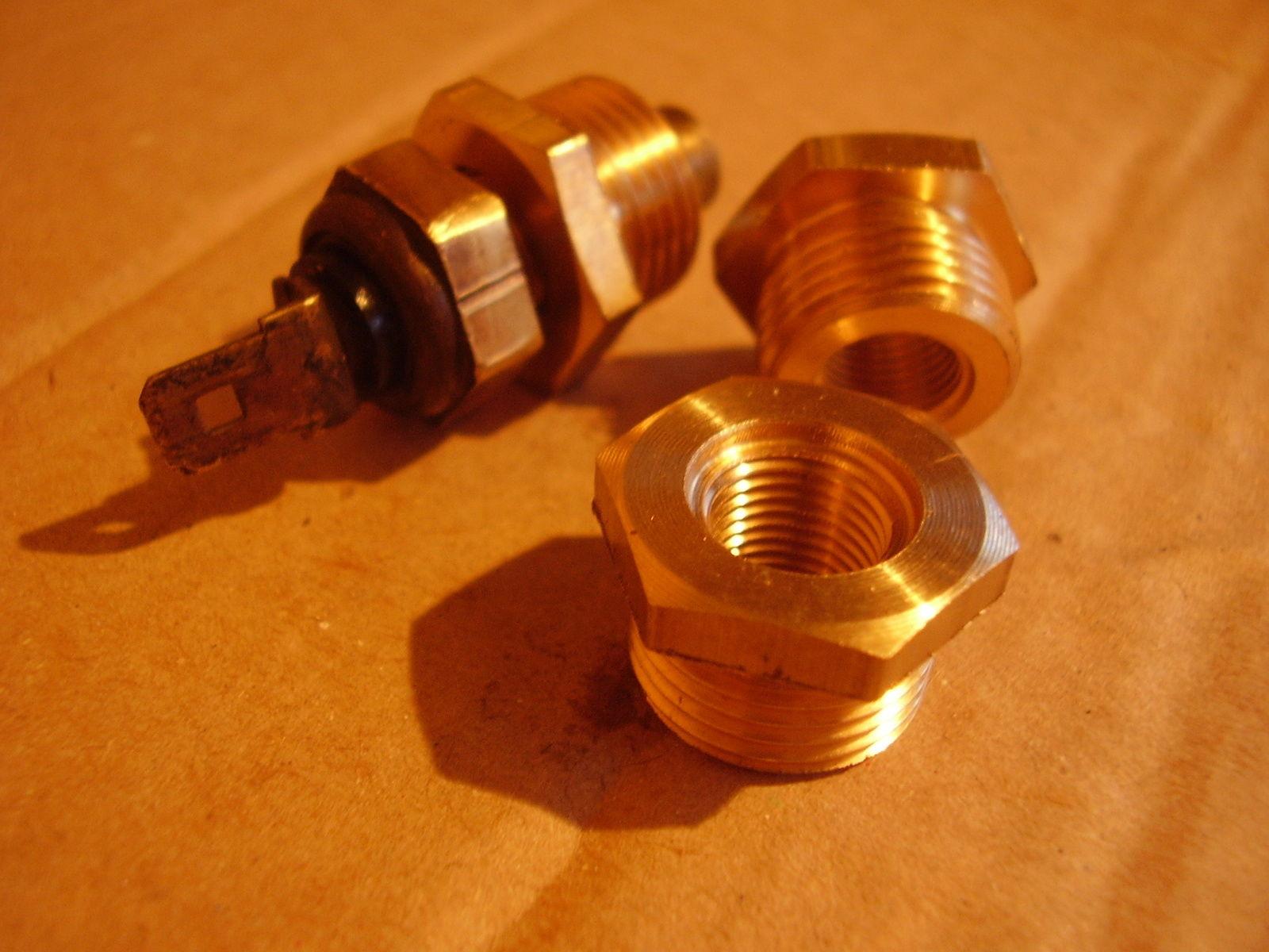 TwinCam Temperature Sender Brass Fitting