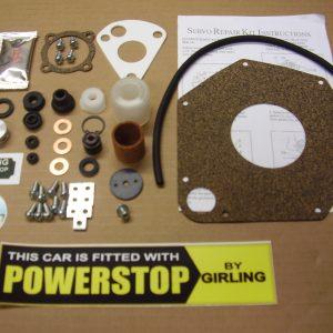 "Girling MKIIA 5.5"" Servo Complete Service Kit"
