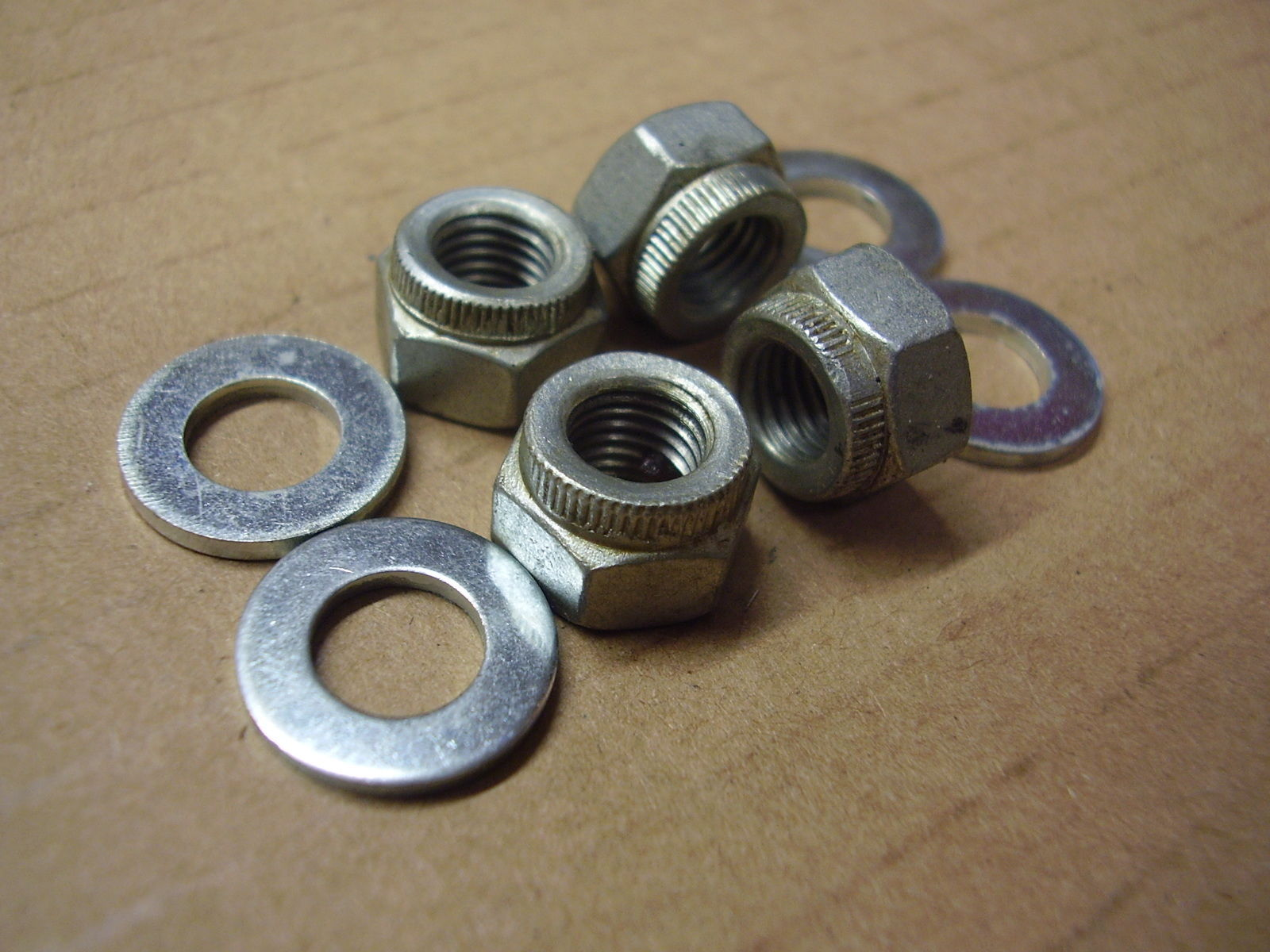 Correct Factory Rear Spring Shackle Nuts