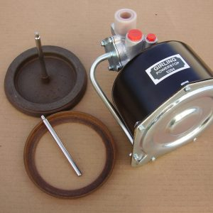 "Girling Mk2a 5,1/2"" Remote Servo New Vacuum Piston & Leather Seal Exchange"