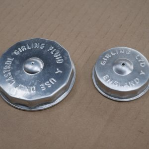 New Genuine Girling Master Cylinder Caps sold as a pair