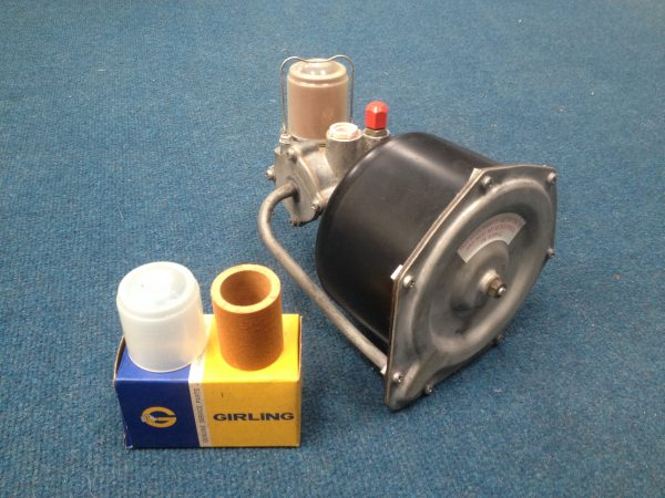 Girling MK2a Servo Early Air Filter & Cover