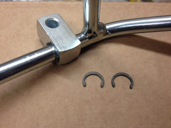 Cortina Throttle Pedal C Clips