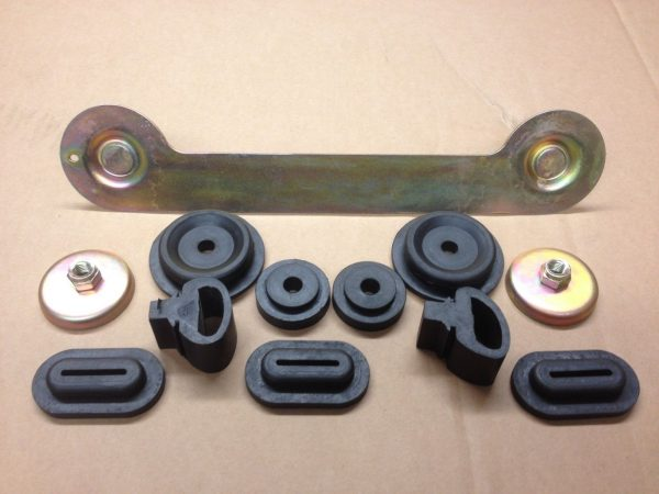 Fuel Pump Cradle Rubbers & Support Bracket