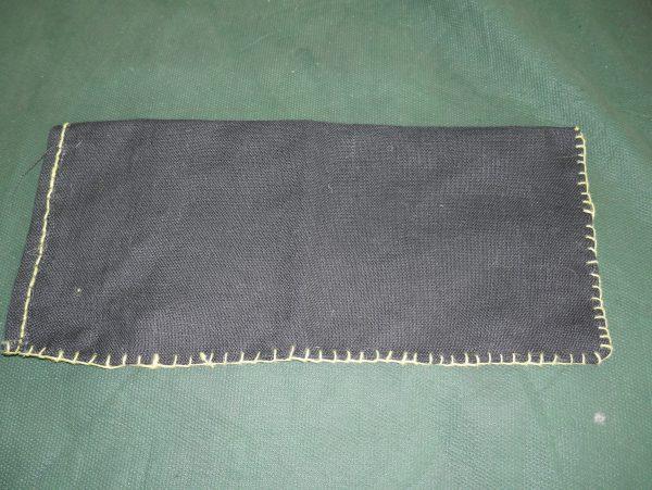 Black Jack Bag Yellow Stitched
